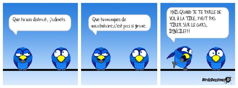 Méfiez-vous des expressions françaises, à la manière de Mister Blues