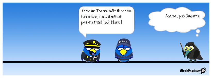 Un Noir Désir(e) fuir la police aussi