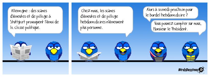 ♫ ♫ Douuuuuce Franceeeeee... ♫ ♫