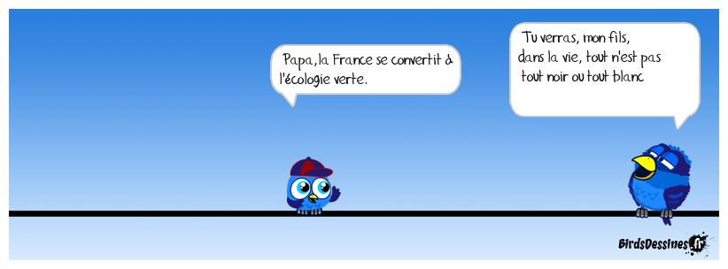 une vague verte déferle sur la France