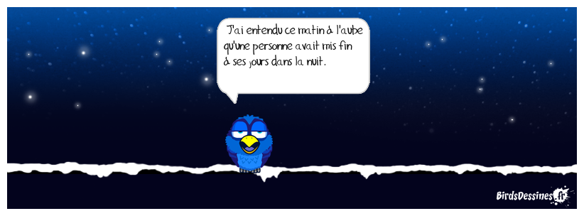 Nuit blanche.