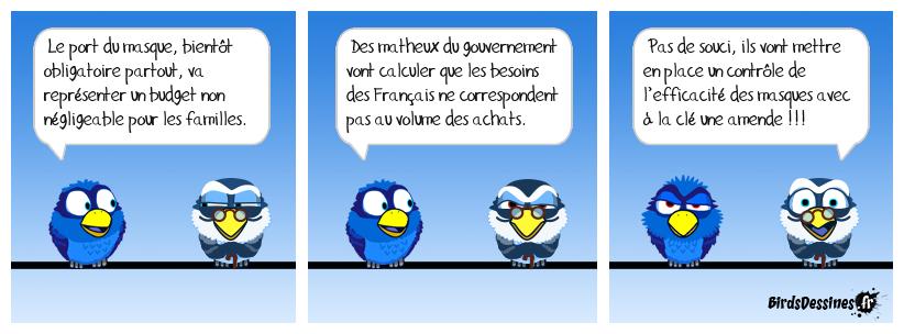 Les Français, gros filous !