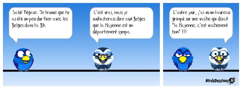 Pour nos amis Belges !