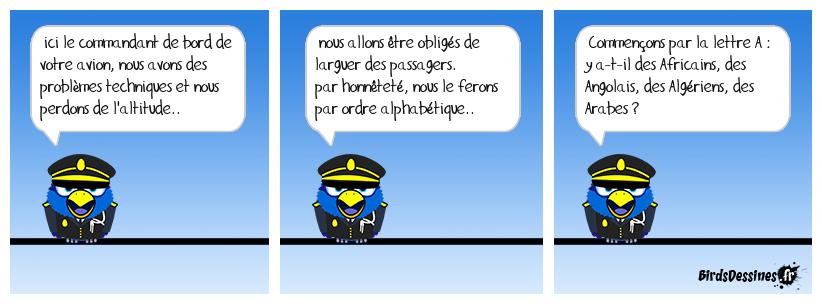 avion en perdition