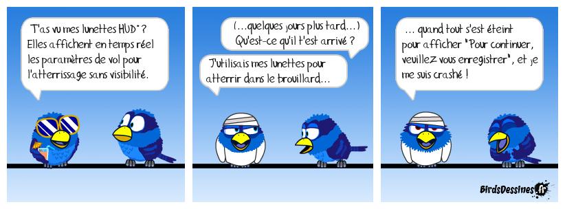 Humour aéronautico-windowsien