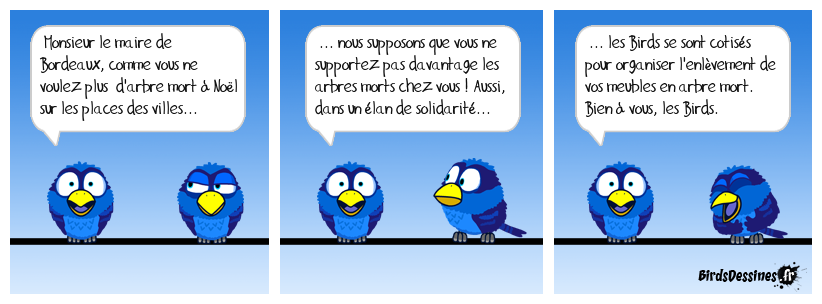 Message au maire de Bordeaux