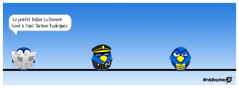 Ensuite, c'est la garde à vue...