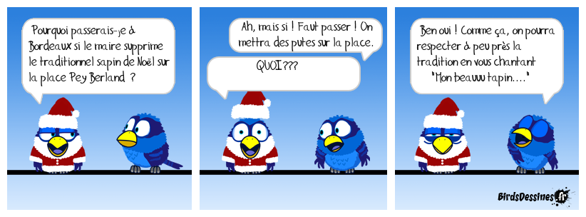 Sauvons les traditions !