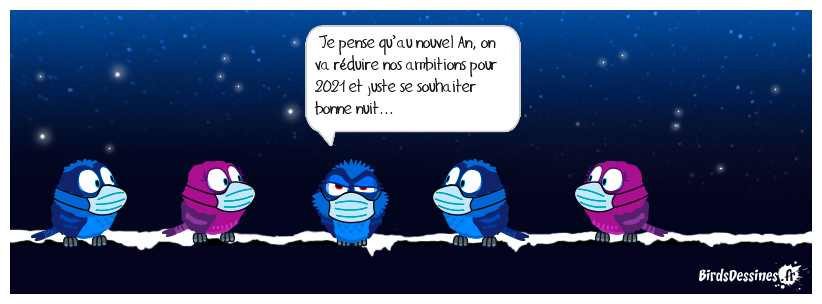 On n'est pas sorti...soyons prudents