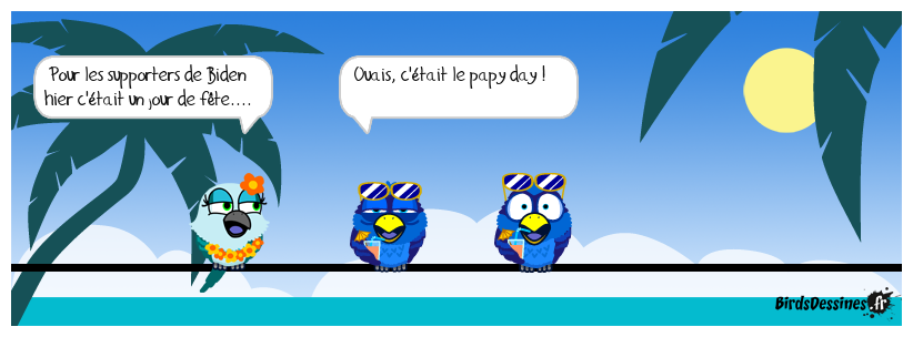 ♫ ♪ Oh papy day ♪ ♫.....