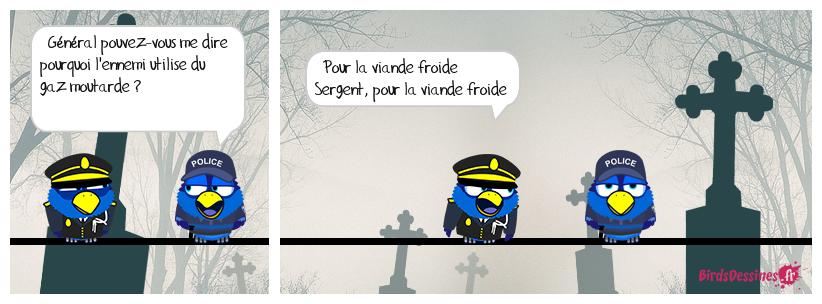 Réédition des Poilus.
