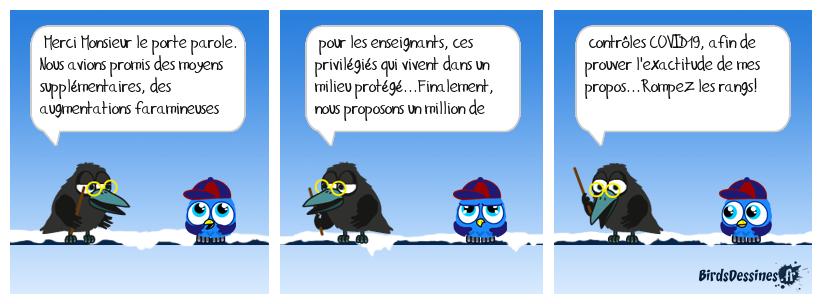 Les promesses de Jean Michel B