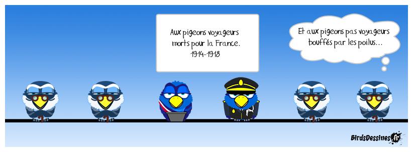 Vaillants pigeons de combat