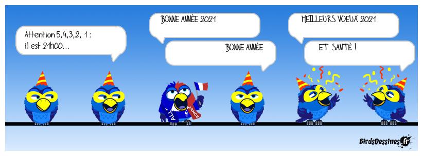 Le couvre-feu du réveillon 2020.