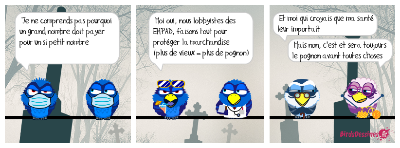 Le Lobbies des EHPAD craint la crise financière