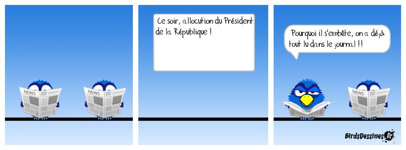 Allocution du Président
