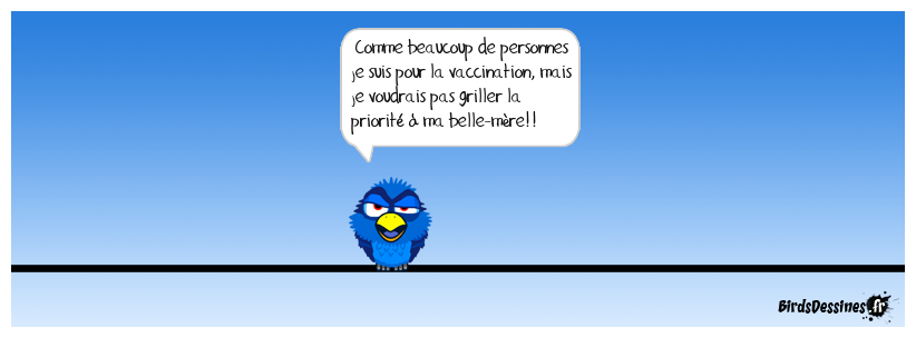 Respecter les personnes prioritaires pour le vaccin!