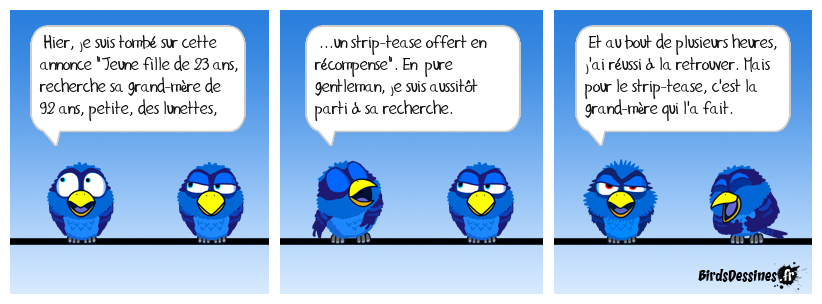 Strip Sénior