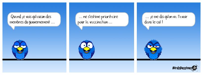 En même temps, vacciner des têtes de nœuds ... c'est utile ?