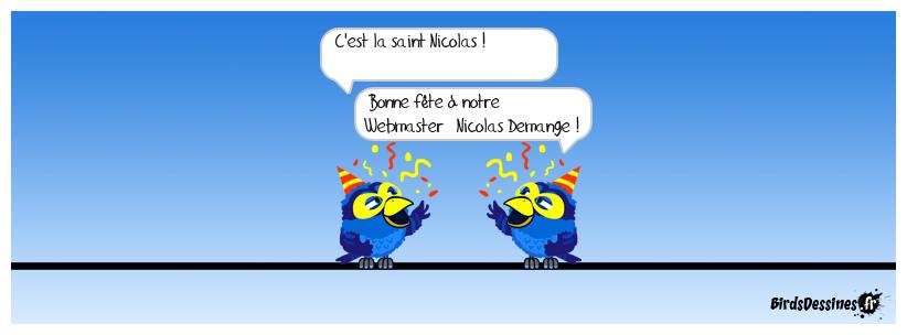 Bonne saint Nicolas !