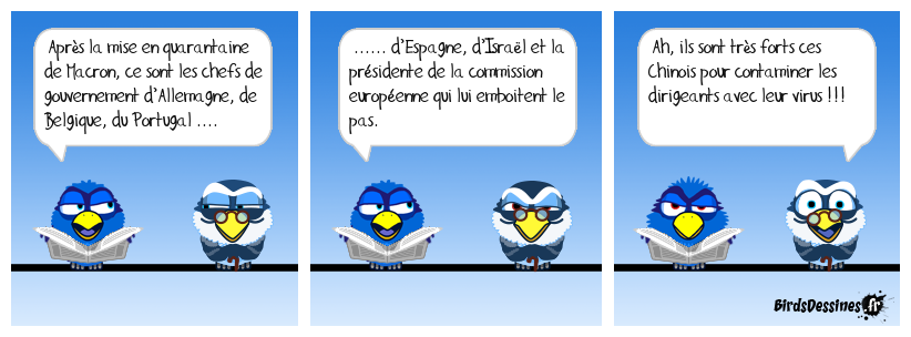 Contamination présidentielle !
