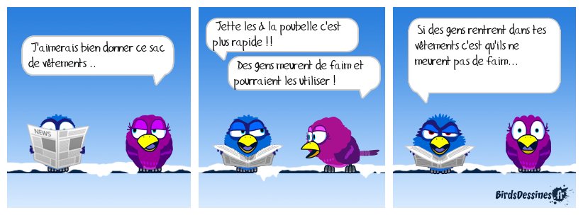 Sympathique le bird ..