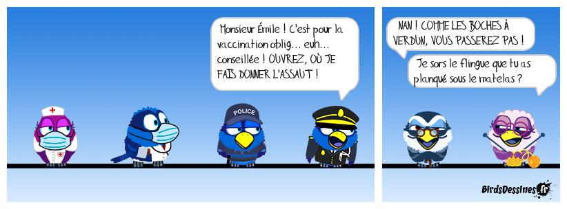 Premières vaccinations dans les EHPAD
