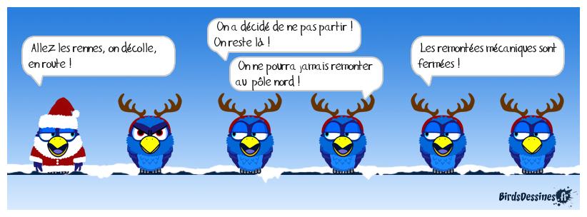 Scoop : les rennes font grève !!!