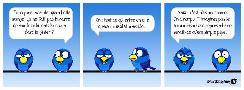 La Birdette invisible