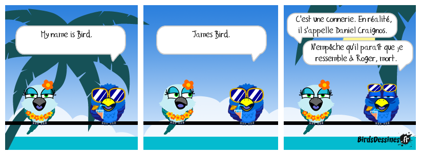 Mytho-Man au pays des Birds