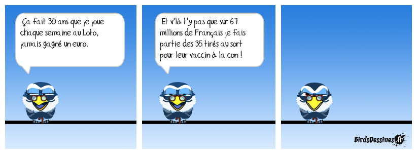 Papy poisse.