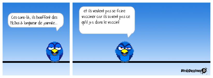 les antivaccins : 60% des français!