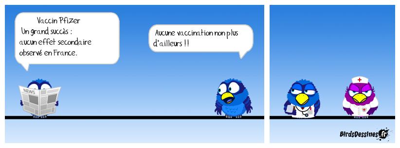 les lenteurs de la vaccination en France ...