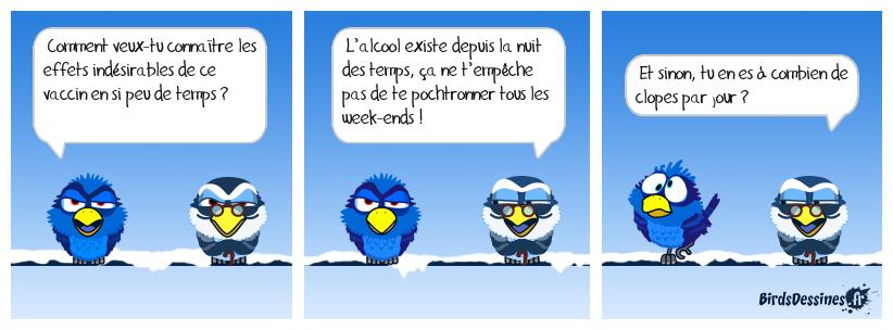 Brèves de birds 4 : Effets indésirables