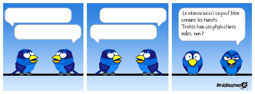 Motus et tweet cousu