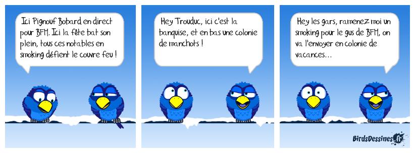 LE MANCHE AU POLE SUD !