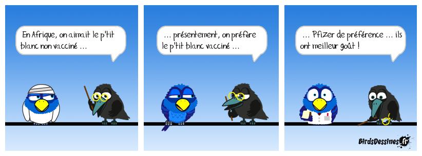 Y a bon, on s'immunise comme on peut !