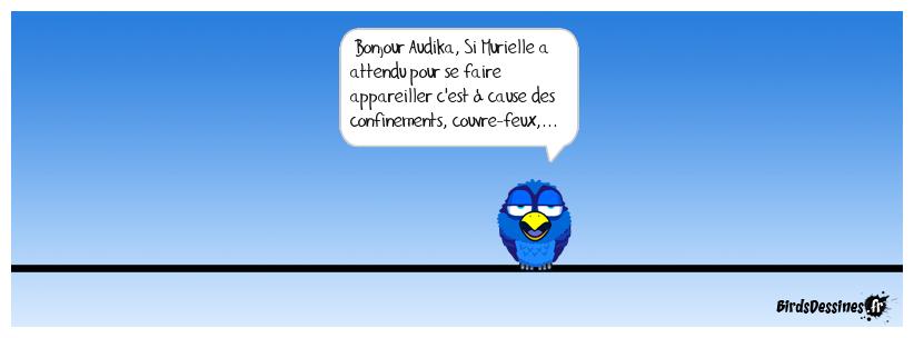 Audika n'est pas au courant qu'il y a un virus... et donc pas de chorale...