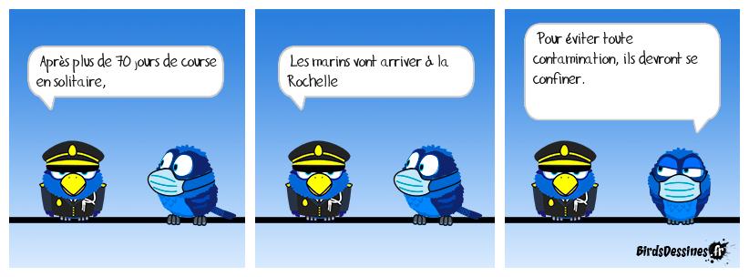 Arrivée du Vendée globe