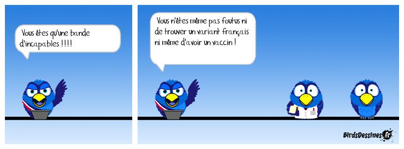 Pasteur se retourne dans sa tombe...