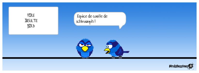 Bleu, c'est bleu !