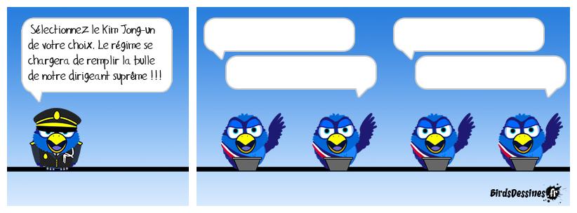 LES BIRDS S'INSTALLENT EN CORéE DU NORD !