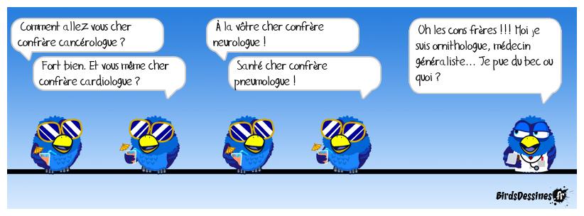 chers CONFrères !