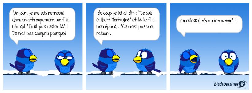 👮 L'anecdote de Gilbert 😮😞