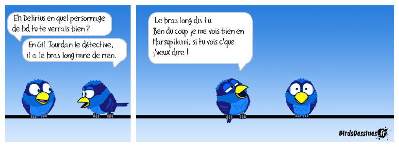 Bd pour Delirius à mateurs de bds :)