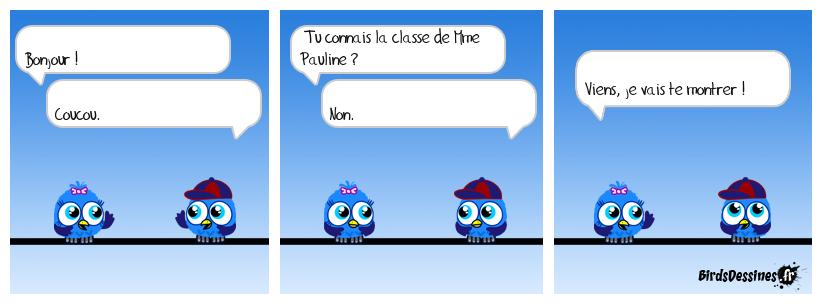 Classe de Mme Pauline