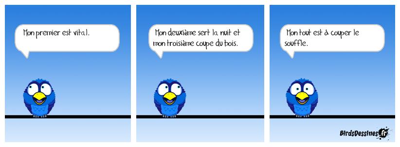La charade du vieux françois 5.