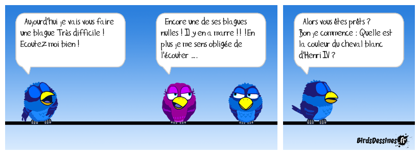 Blague ridicule ...