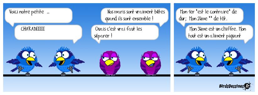 La BD des oiseaux rigolos !