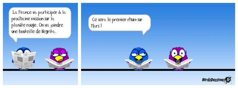 Toujours là nous les français !